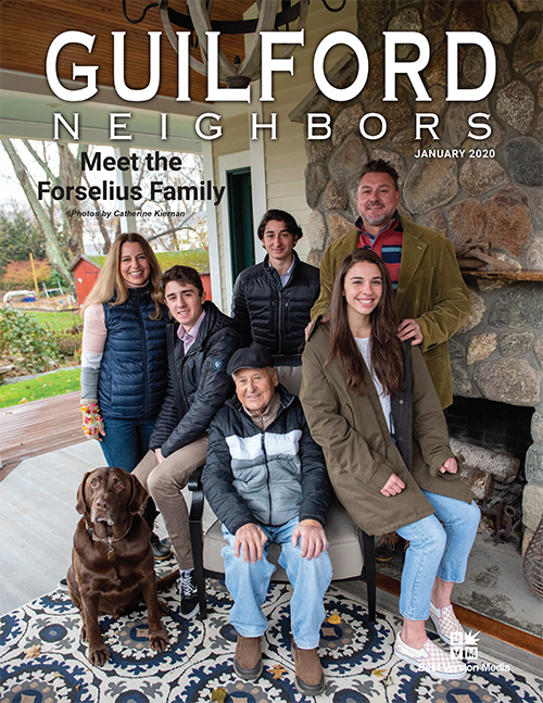 Cover of Guilford Neighbors Magazine